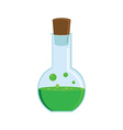 Green potion vector image
