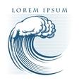 Wave Logo vector image