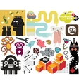 Mix of different images vol53 vector image vector image