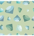 flat diamonds seamless pattern vector image