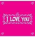 letters love text doodles vector image
