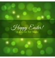 easter card design background vector image vector image