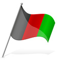 flag of Afghanistan vector image