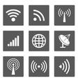 wireless icons vector image