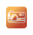 button digital camera technology equipment object vector image