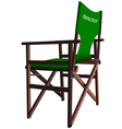 6014 chair vector image vector image
