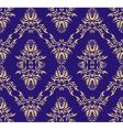 Damask Victorian pattern vector image