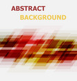 abstract red and yellow geometric overlapping vector image