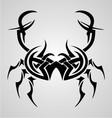 Crab Tribal Tattoo vector image vector image
