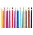 coloring pencils vector image