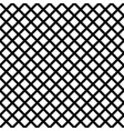 chain-link geometric black on white seamless vector image
