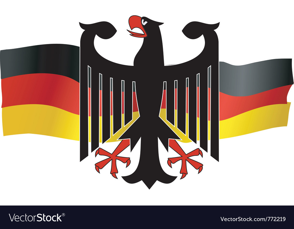 Symbols of germany vector