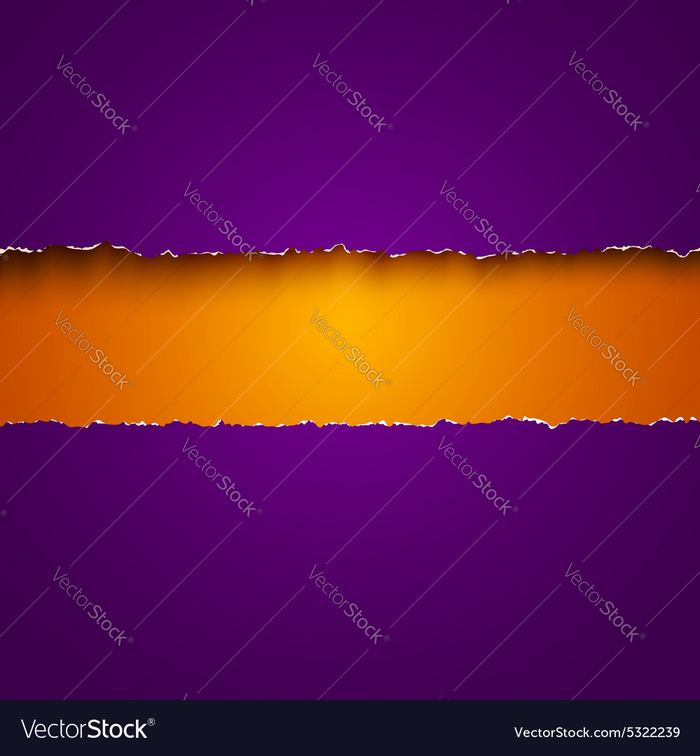Torn paper purple new vector