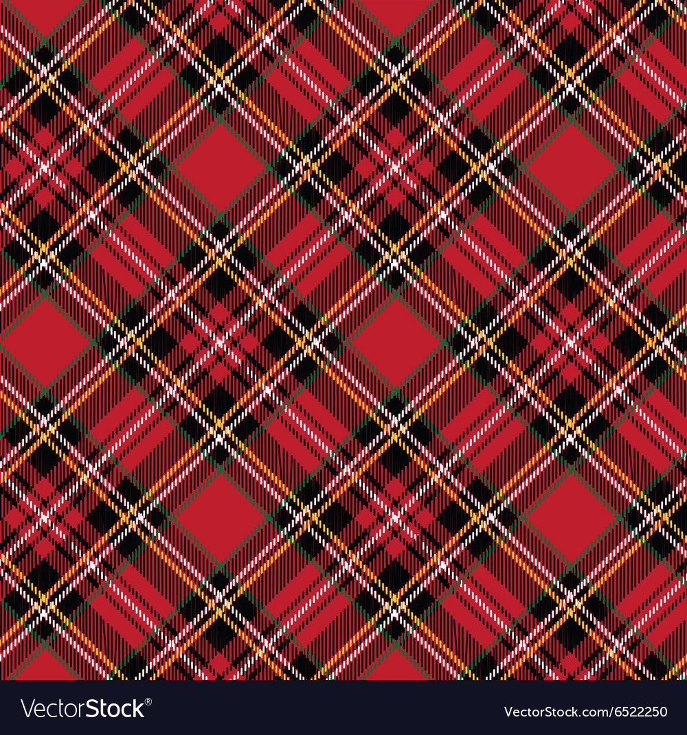 Tartan pattern backgroundeps vector