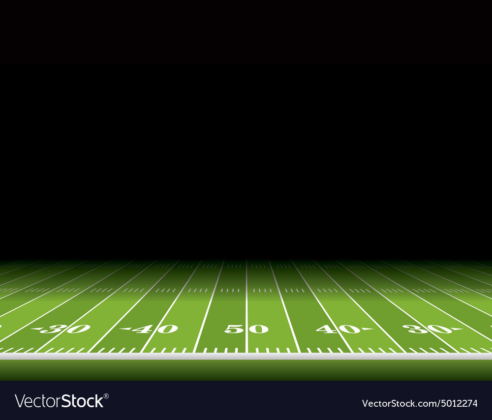 American football field background vector
