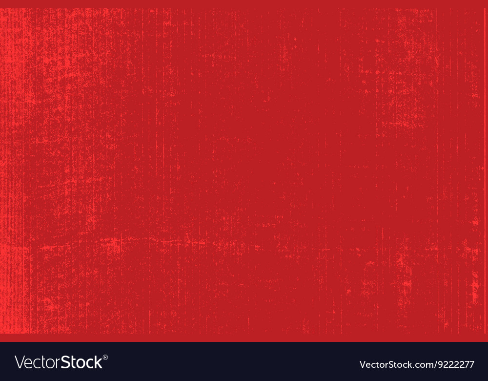 Red distressed background vector
