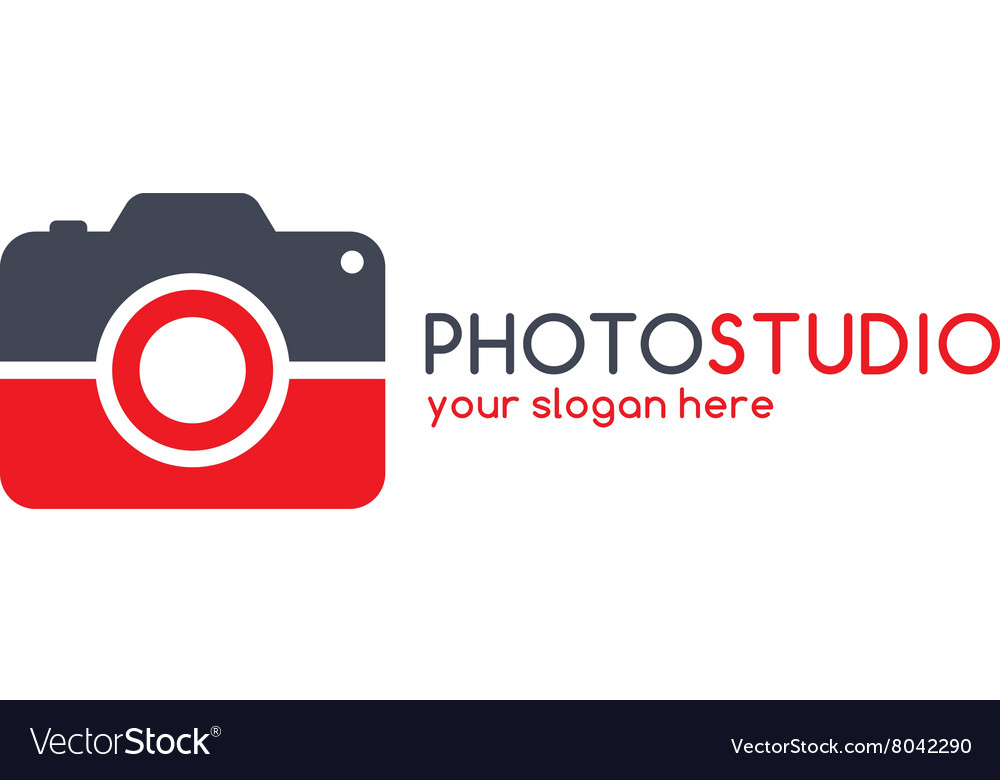 Photography theme logotype vector