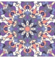 Seamless pattern with colored mandalas vector image
