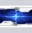 hi-tech digital technology and engineering vector image