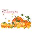 Thanksgiving vector image vector image
