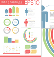 Information Graphics design elements set vector image