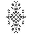 hand drawn tribal design vector image