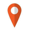Map marker icon vector image