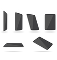 tablet computers different foreshortening vector image