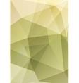 Abstract polygonal geometric design vector image vector image