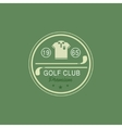 Glod Club Emblem vector image