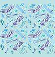 music pattern vector image