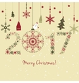 2017 New year card vector image
