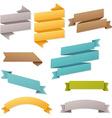 Web Ribbons Set vector image