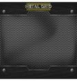 metal mesh texture vector image