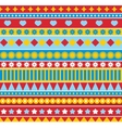 Strip seamless pattern in style of 70ies vector image