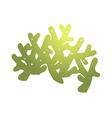 icon coral reef vector image vector image