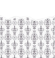 damask pattern with torn paper vector image