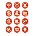 astrology icons vector image