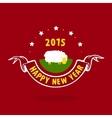 New Year and lamb vector image