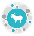 of zoo symbol on kine icon vector image