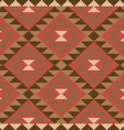 Ethnic carpet design vector image vector image