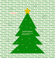 Christmas baclground vector image vector image