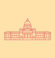 Arkansas vector image