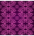 Vertical purple ornamental background vector image