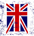 British flag t shirt typography graphic vector image
