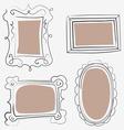 art frames vector image vector image