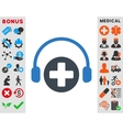 Hospital Call Service Icon vector image