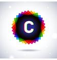 Spectrum logo icon Letter C vector image