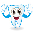 A strong tooth vector image