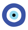 greek evil eye - symbol of protection vector image
